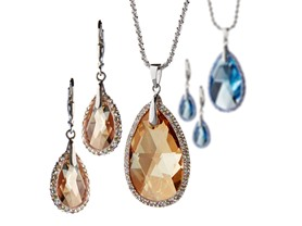 Swarovski Elements Teardrop Sets