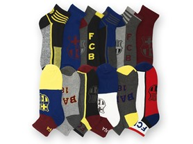 12 Pairs: Soccer Socks