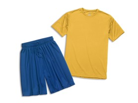 Zorrel Men's and Women's Shorts/Tee Comb