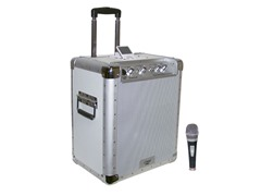 Battery Powered Portable PA w/ iPod Dock