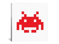 Red Invader 18x18 Thin