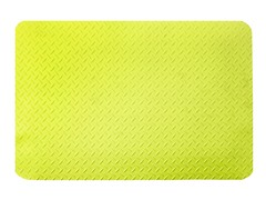 5' Dry Area Diamond Mat, Yellow