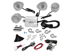 1200W Motorcycle Weatherproof Speaker System