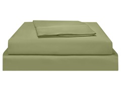 500TC Pima WF Sateen Sheet Set-Sage-Queen