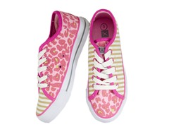 Tabby Cheetah Lace-up - Youth (13-5)