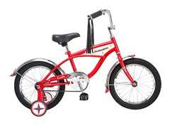 "Boy's Retro Woody 16"" Bike - Red"
