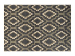 Charcoal/Grey Griffin Geometric Rug 4-Sizes