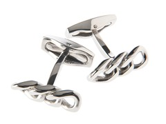 Stainless Steel Curb Link Cufflinks