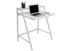 Lumisource 2-Tier Computer Desk- White