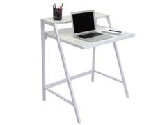 Lumisource 2-Tier Computer Desk- White