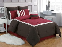 Contempo 8Pc Comforter Set-King/Cal King