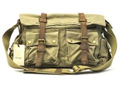 J.Campbell Messenger Bag, Khaki