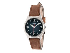 Timex Weekender Watch, Brown Leather