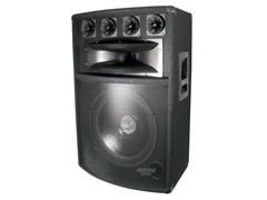 "Pyle 800W 15"" Six-Way DJ Speaker Cabinet"