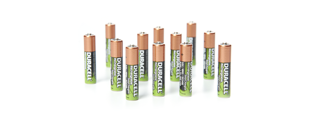 12ct Duracell AAA Rechargeable Batteries