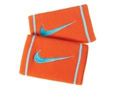 Dri-Fit Doublewide Wristbands - Orange
