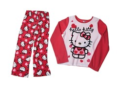 Hello Kitty 2-Piece Fleece Set (4-10)