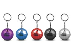 Disco Keychain Rechargeable Speaker Ball
