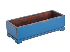 Blue Long Harper Planter