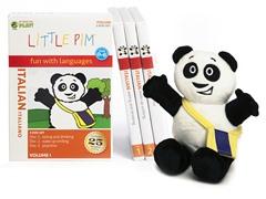 Italian for Kids: Language Box Set Volume I w/Panda Plush