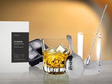 W&P The Stirred Cocktail Gift Set