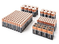 AA/AAA/C/D/9V Alkaline Batteries - 174 Super Fun Pack