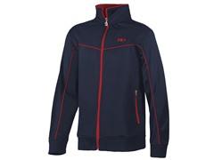 Full Zip Jacket - Peacoat/Red