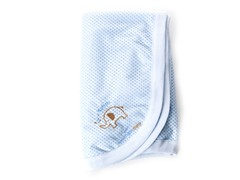 Breathable Baby Blanket - Blue