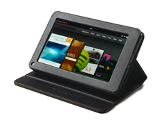 Leatherette Stand Case for Kindle Fire