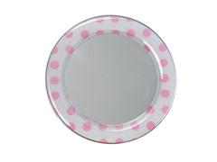 Mirror - Pink Polka Dot
