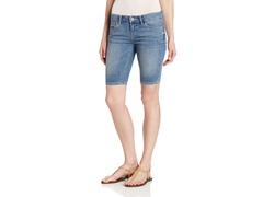 Levi's Juniors Colleen Super Stretch Bermuda, Indigo