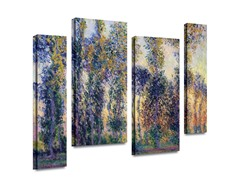 Poplars at Giverny (2 Sizes)