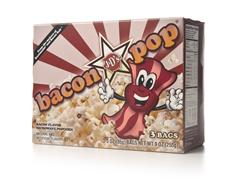 BaconPop Bacon Microwave Popcorn