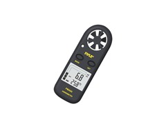 Digital Anemometer and Thermometer