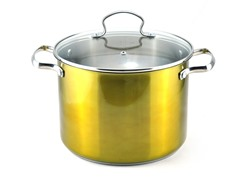 Kevin Dundon 8 QT Stock Pot Gold