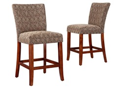 "24"" Traditional Parson Stool - Set of 2"