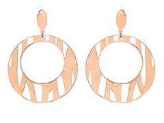 Cut-Out Round Filigree Earrings