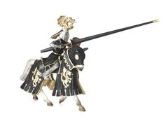 Golden Knight on Horse