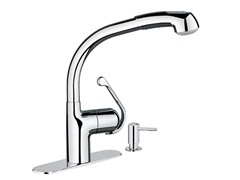 Zedra Dual Spray Pull-Down, Chrome