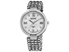 August Steiner AS8065SS Women's w/ Diamond - Stainless