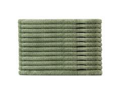 MicroCotton 12pc Washcloth Set-Bamboo