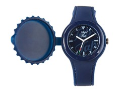 Dark Blue Silicone Watch