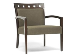 Carmela Green and Brown Accent Chair