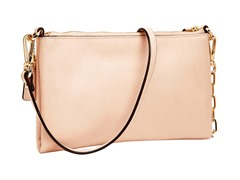 Coach Kylie Crossbody Saffiano Lthr- Light Gold/Peach Rose