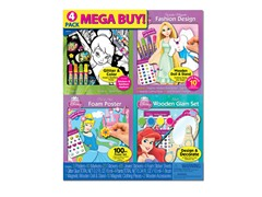 Mega 3-D 4 Pack Fashion Set