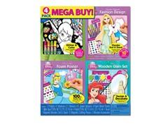 Mega 3-D 4 Pack Fashion Set