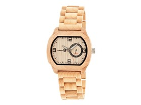 Earth Wood Scaly Bracelet Watch