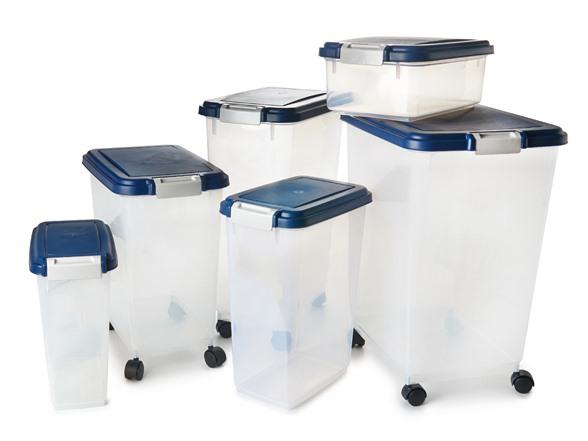 Iris Usa Airtight Pet Food Container 6 Sizes