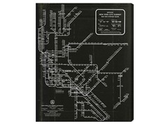 New York Subway Map 1958 (3 Sizes)