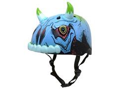 Krash Deadheadz Toro Skull Helmet,8+ Yrs